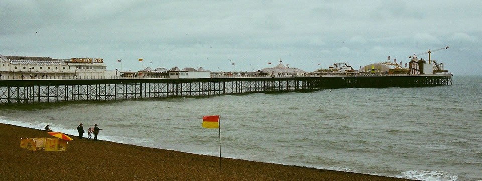 Brighton Pier & Royal Pavillion